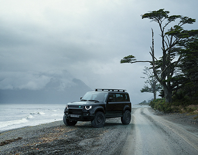 Patagonia with Defender 2020 - CGI