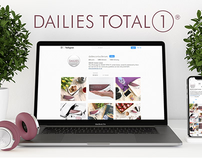 DAILIES TOTAL1® Social Media Channels