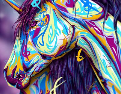 UNICORN-ISH   Magic Creatures Collection