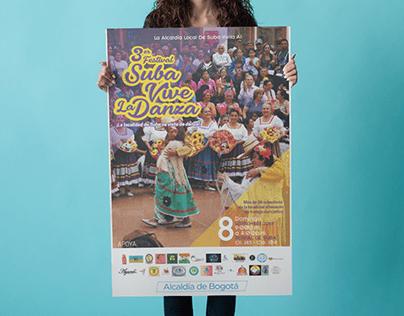 Festival Suba Vive La Danza (Poster Design)