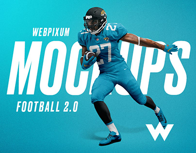 2.0 NFL Football Mockups - FREE Billboard PSD