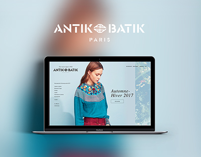 Antik Batik - Webdesign site ecommerce