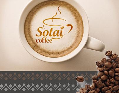 Solai coffee logo design