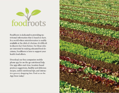 FoodRoots   Social Awareness Project