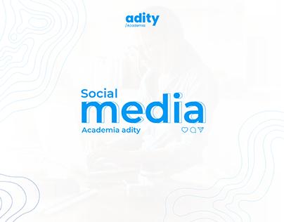 Social Media Academia Adity | RRSS