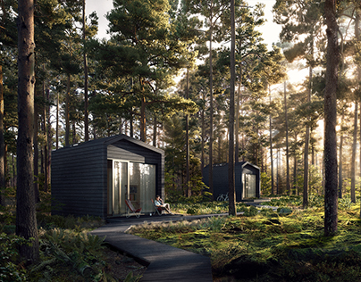 Forest Cabins for Workinforest
