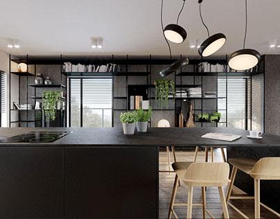 Cuprum Apartment / 127m² / Warsaw, Poland