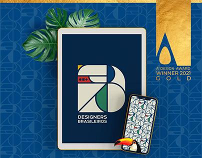 DESIGNERS BRASILEIROS - ADESING AWARDS 2021 GOLD