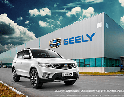 Geely X7 Sport - Concept Campaign
