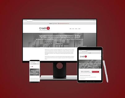 Credit 4 Home Improvements | Web Design & Development