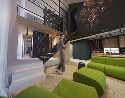 CityLake Apartment, 95 m2