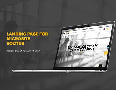 Soltius - SAP Business One Microsite