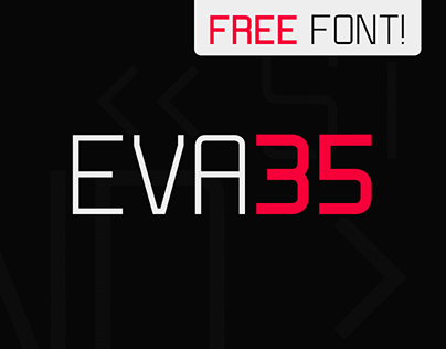 EVA35 - Free Multiweight Font
