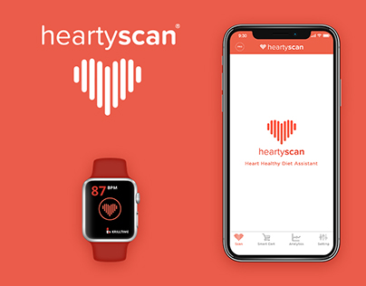 Hearty Scan Website & Application Design