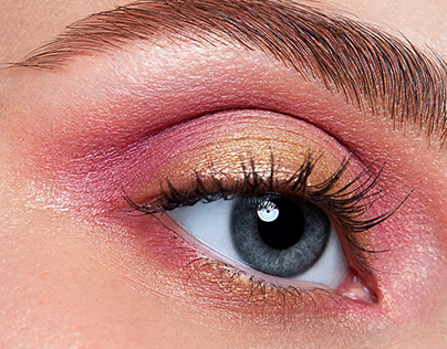Eye highend retouch