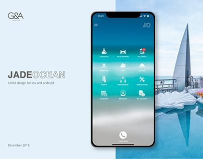 UXUI Jade Ocean