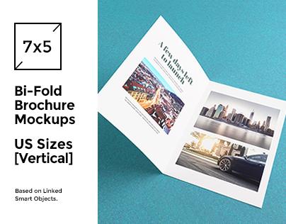 Bi-Fold Brochure/Flyer Mockups