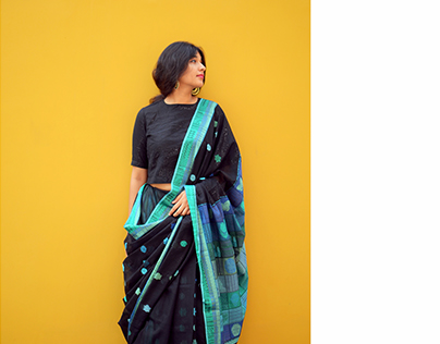 The Ballad of Blossoms: Handwoven saris