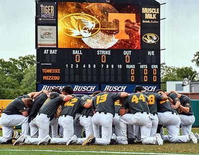Mizzou Baseball vs. Tennessee Photography