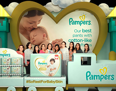 Pampers Pant Launch 2018