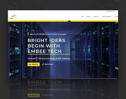 Technology & IT Website Design by Irvin Guadarrama