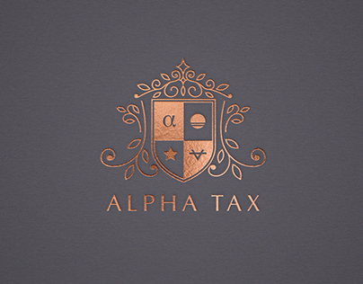 Alpha Tax : Brand Identity