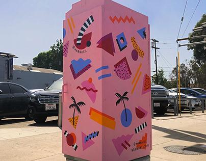 Street art - Van Nuys blvd