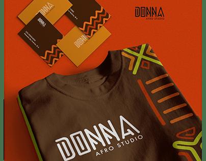 Donna Afro Studio | Brand Identity
