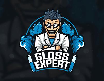 Logo Mad Scientist (Gloss Expert)