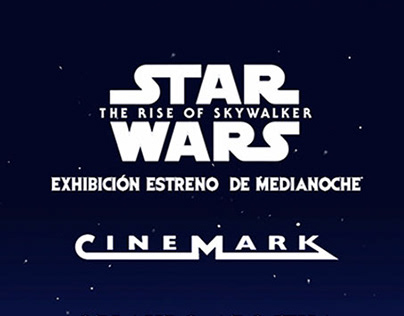 STAR WARS -CINEMARK PREMIERE EXHIBITION