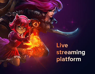 Live streaming platform for gamers