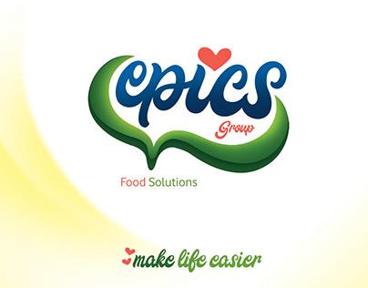 Epics Logo Design, Gluten-Free Food products