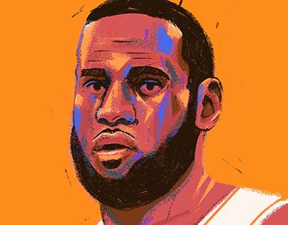 NBA Stars - Illustrated