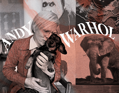 Collages with Andy Warhol