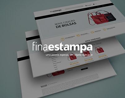 Fina Estampa | Ecommerce