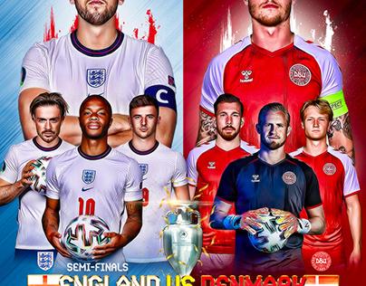 ENGLAND - DENMARK EURO 2020 SEMI FINALS