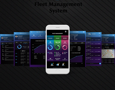 CRM Mobile Dashbaord App - UX/UI Design