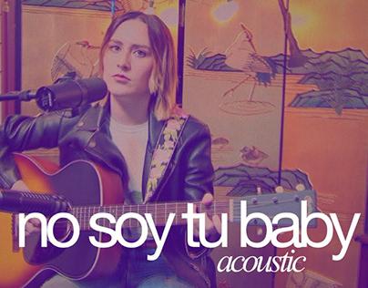 Giuliana - No Soy Tu Baby (Acoustic Live)
