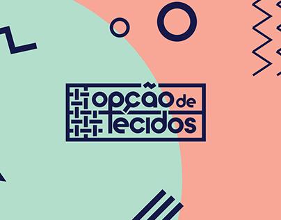 OPÇÃO DE TECIDOS - BRANDING/WEBDESIGN