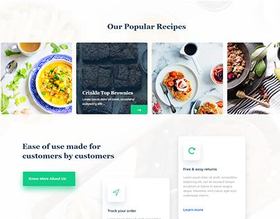 Restaurant web-app