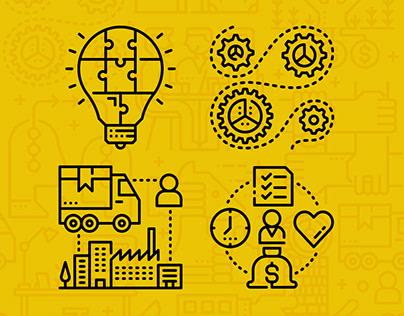 Iconustration : Business
