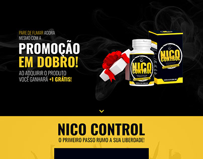 NicoControl | Landing Page | PSD & HTML/CSS/JS