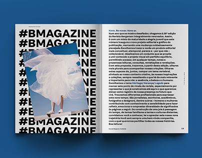B Magazine : Editorial Design