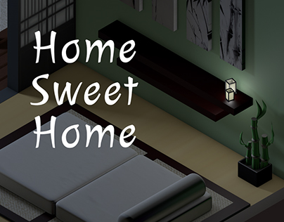 Home Sweet Home | Isometric Room