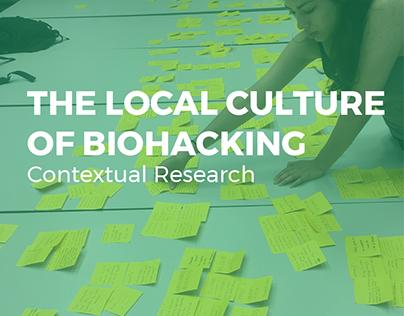 Contextual Research - Biohacking