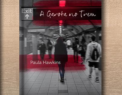 Redesign Livro A Garota no Trem (Book Cover)
