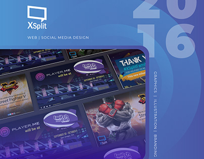 Isometric Illustrations for XSplit Broadcaster on Behance