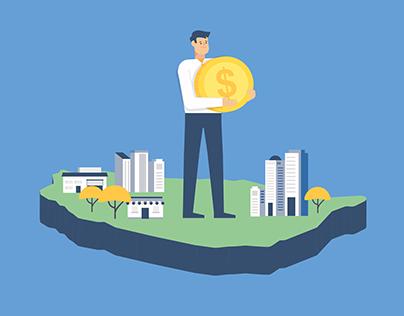 聯輔會 「境外資金匯回實質投資機制」推廣動畫和懶人包設計