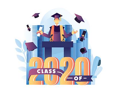 Graduation Speech Illustration