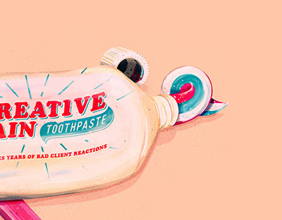 The Creative Pain: toothpaste